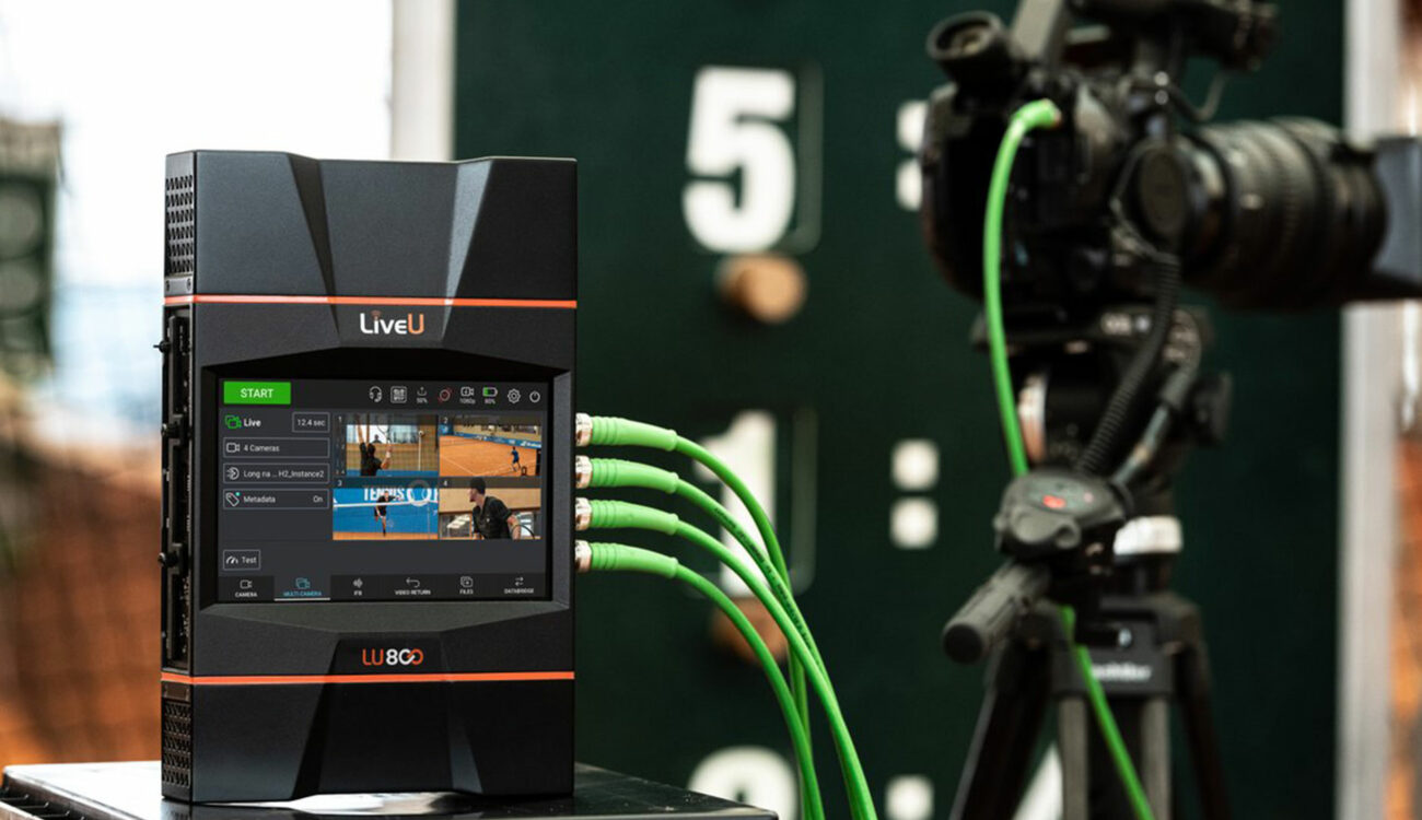 LiveU LU800 All-In-One Production-Level Field Unit Introduced