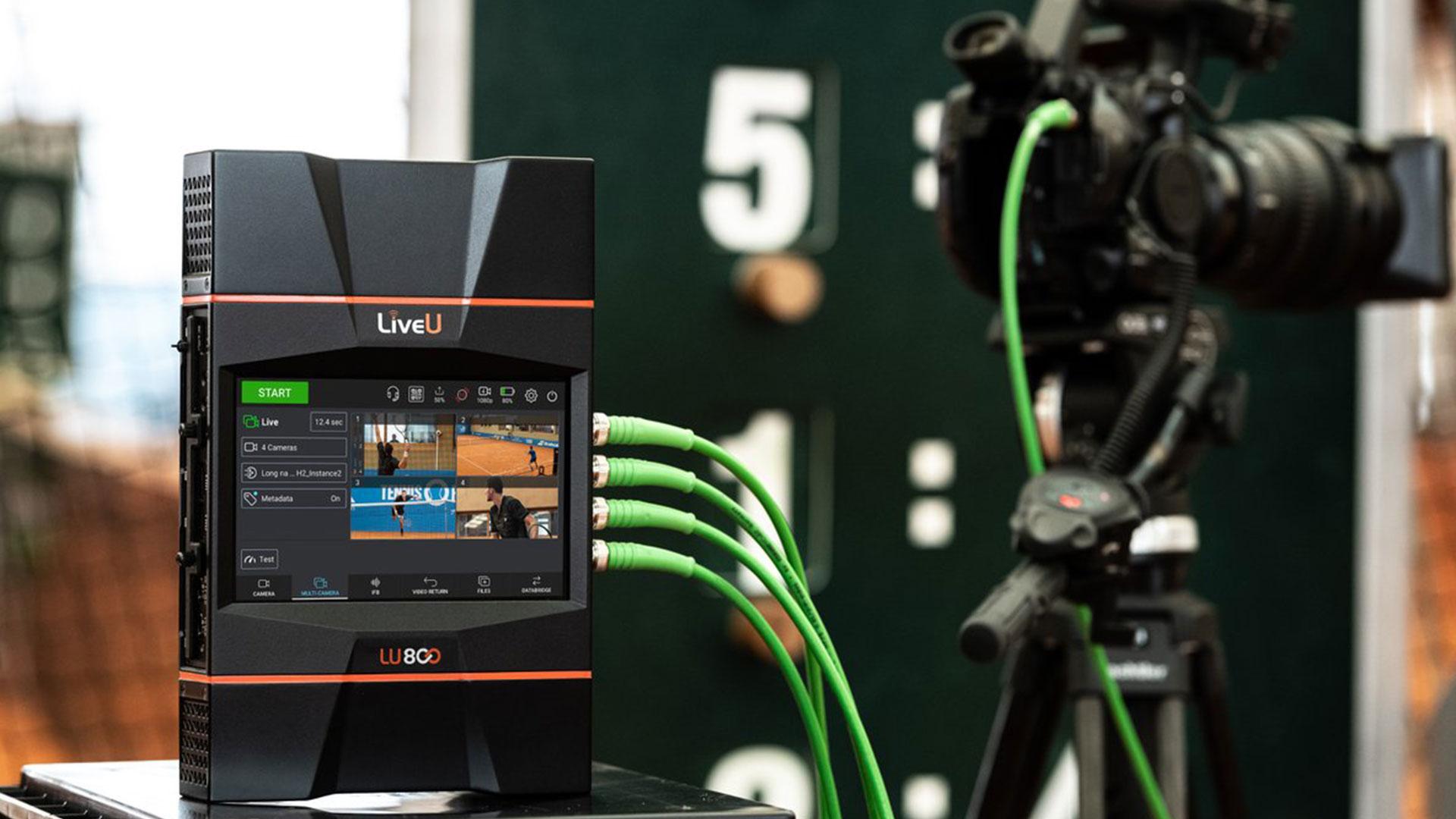 LiveUがLU800オールインワンのフィールドユニットを発売