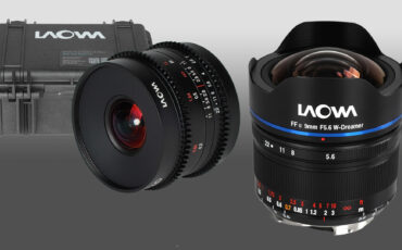 New Laowa 9mm Ultra-Wide Lenses - f/5.6 for Full-Frame and T2.9 Cine for APS-C