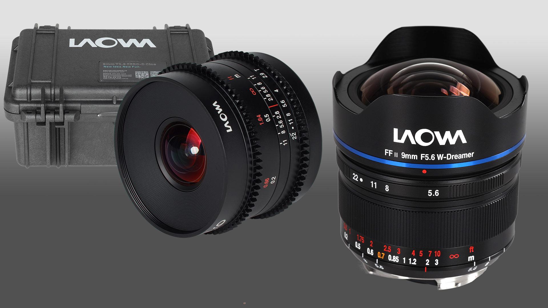 Laowaから9mm  f/5.6超広角レンズが発売