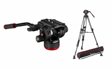 Manfrotto 504X Released - 12Kg Payload Flat Base Fluid Head