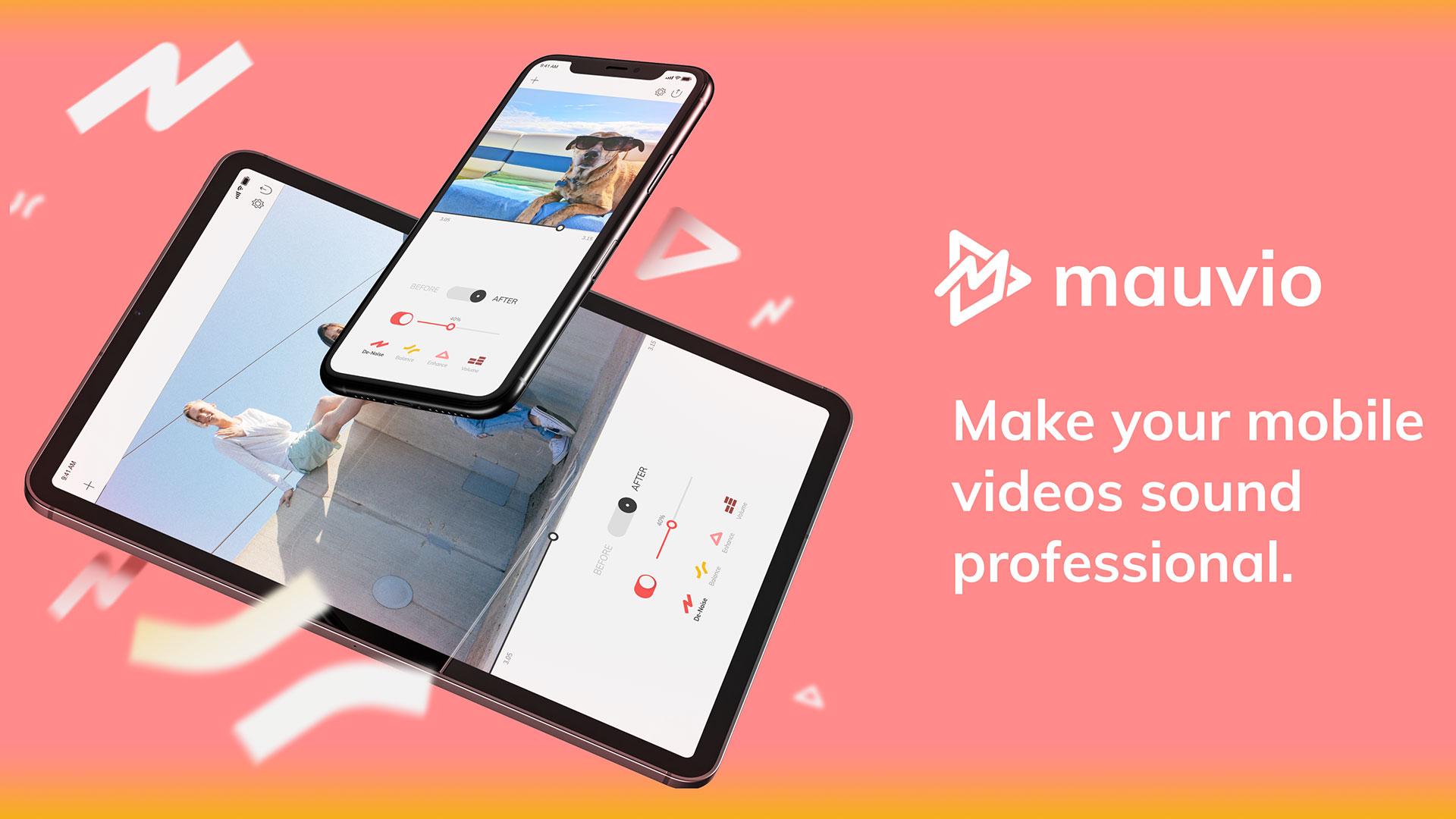 Aplicación Mauvio: mejora el sonido de tus videos de iPhone y iPad