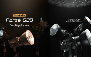 NANLITE Forza 60B and Forza 200 LED Lights Announced