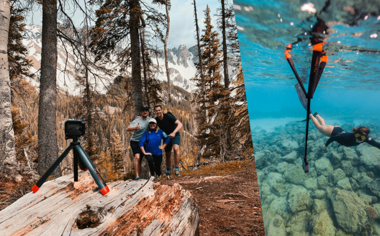 Nu Grip - 4 in 1 Floating Tripod Grip for Action Cameras Now on Indiegogo