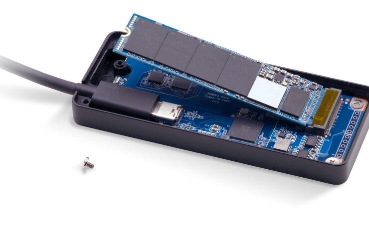 OWC Envoy Express - A Bus Powered Thunderbolt NVMe SSD Enclosure