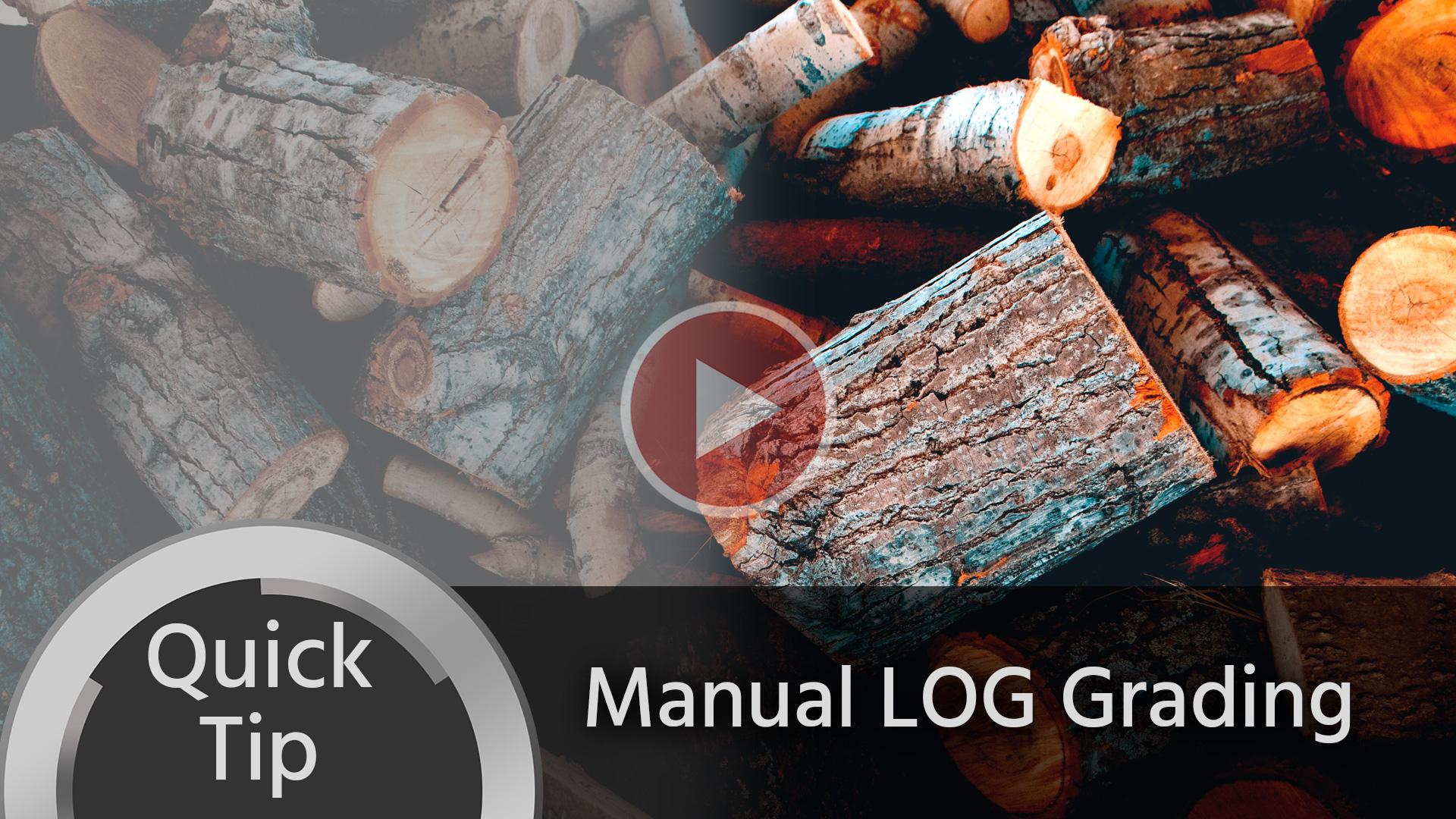 Consejo rápido: gradación LOG manual fácil