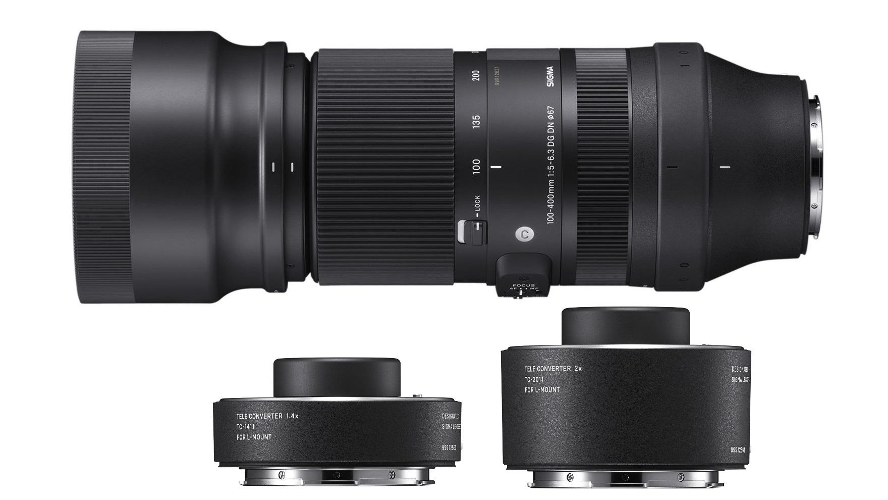 Presentaron el lente SIGMA 100-400mm f/5-6.3 para monturas L-Mount y E-Mount