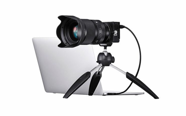 SIGMA fp Camera - Webcam Mode for Live Streaming