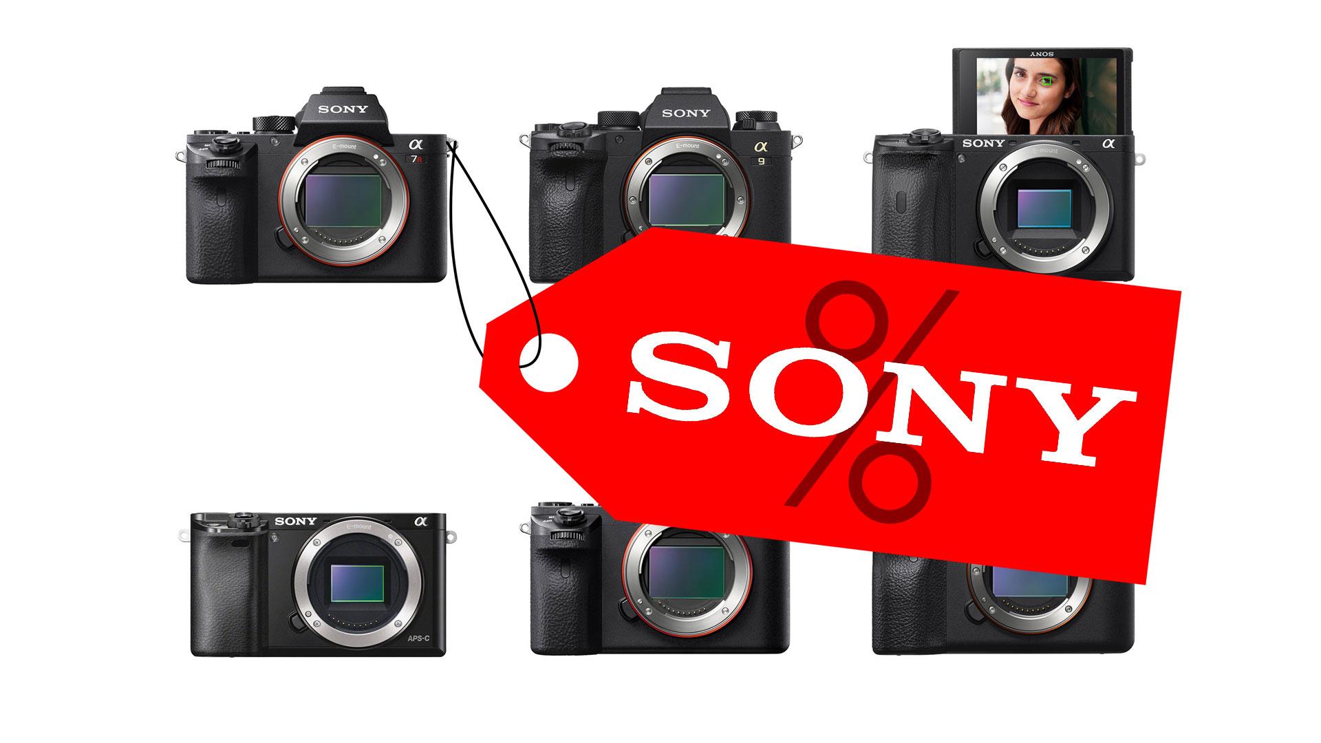 Descuentos en cámaras sin espejo Sony Alpha - Ahorra hasta $ 500,00