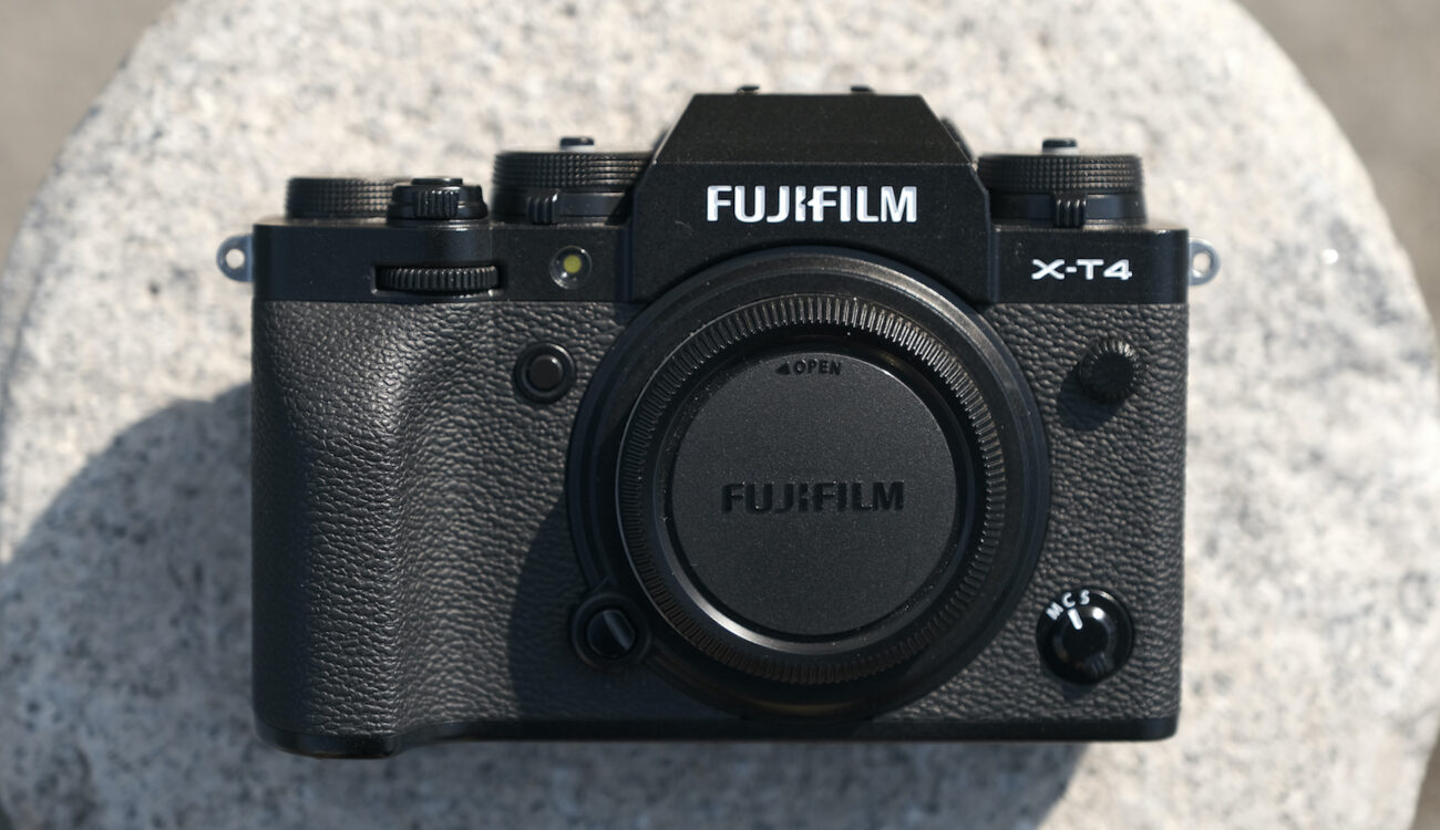 FUJIFILM X-T4 Firmware Update Released - Brings Improvement of IBIS Function in Movie Mode