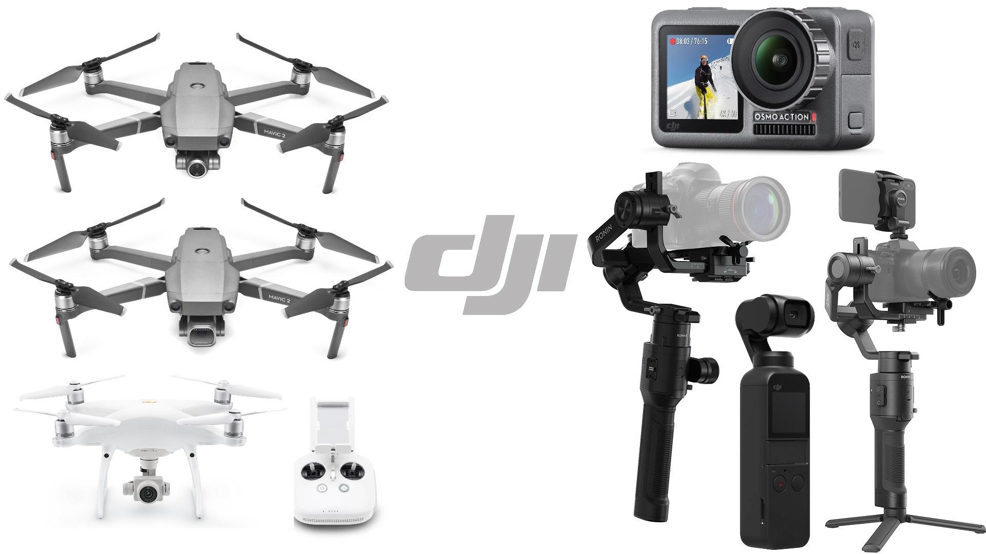 Oferta de DJI en B&H: ahorra hasta $239 en drones y gimbals seleccionados utilizando el código promocional