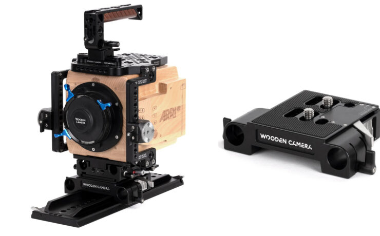 Wooden Camera Quick Release Bridge Plate - Snap On Snap Off