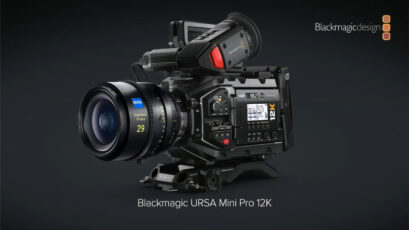 Blackmagic URSA Mini Pro 12K Announced - Super35, Up to 12K 60FPS in BRAW
