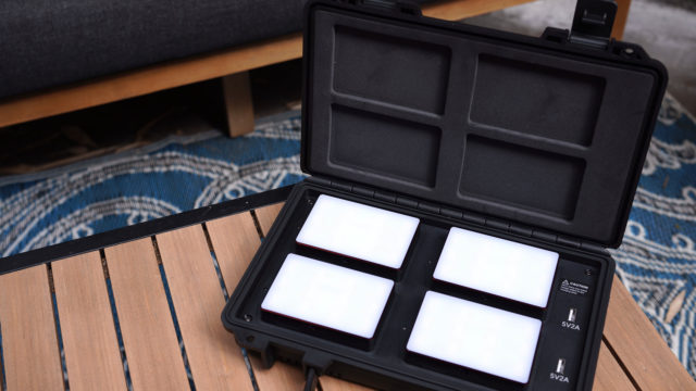 Kit Aputure MC 4-Light – Primeras impresiones