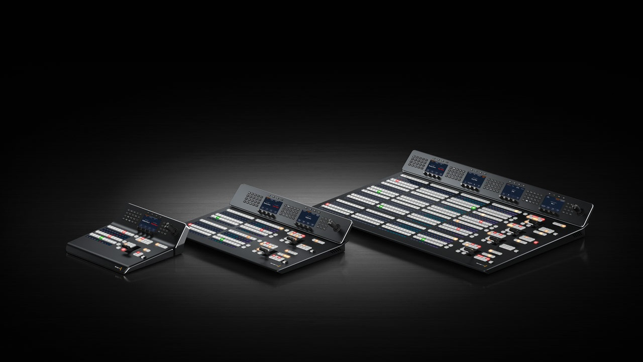 Blackmagic Design Announced New Atem 2m E And 4m E Advanced Panels Cined