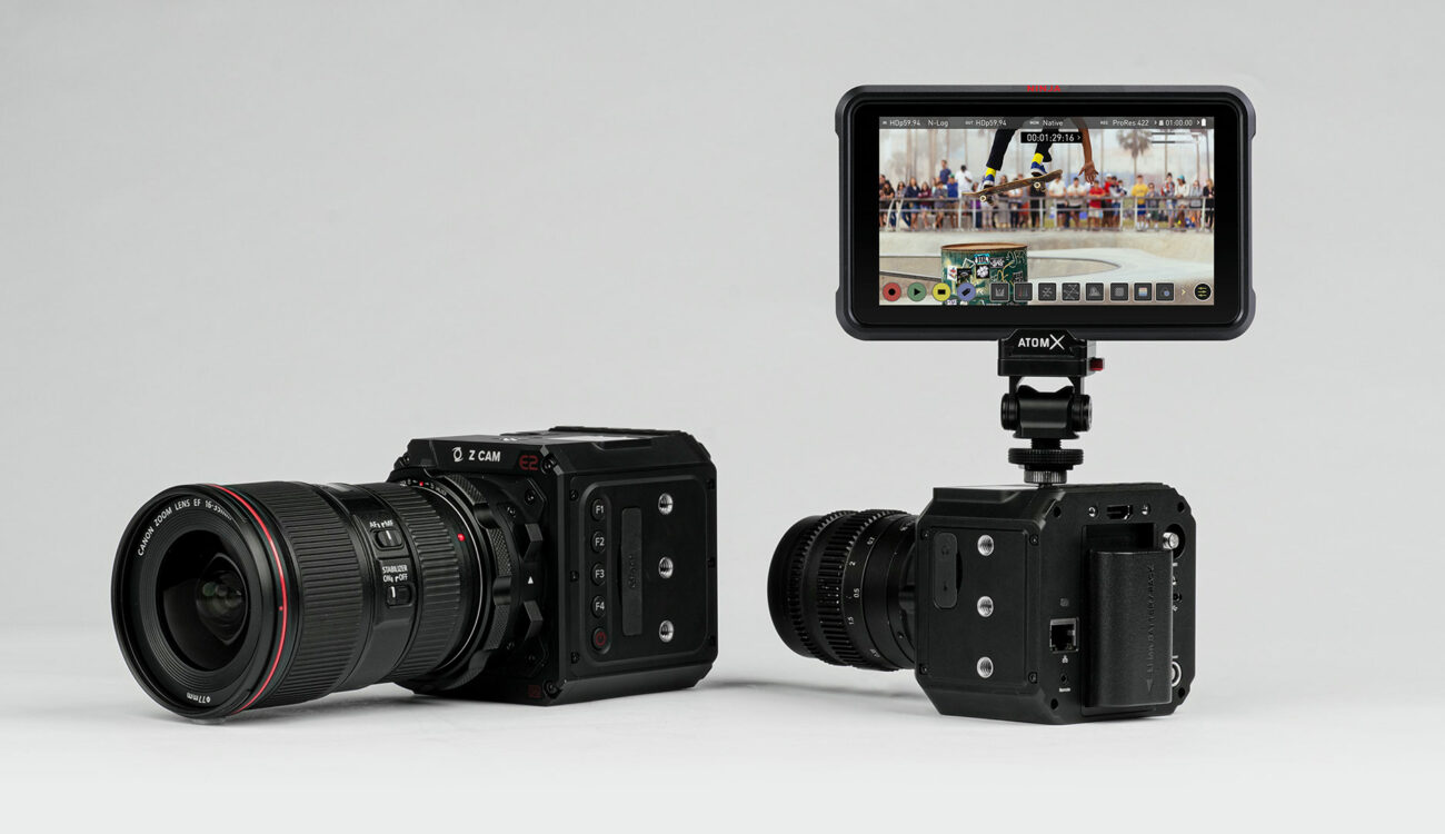 Atomos and Z CAM Release 5.8K and 4K ProRes RAW Recording for Z CAM E2 Series of Cameras
