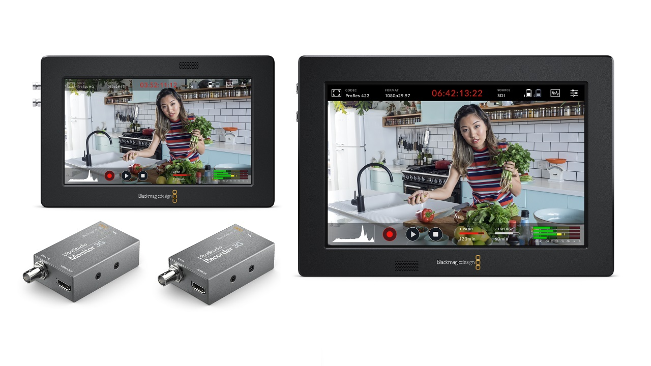 Blackmagic Design Video Assist 3g And Ultrastudio 3g Announced Cined