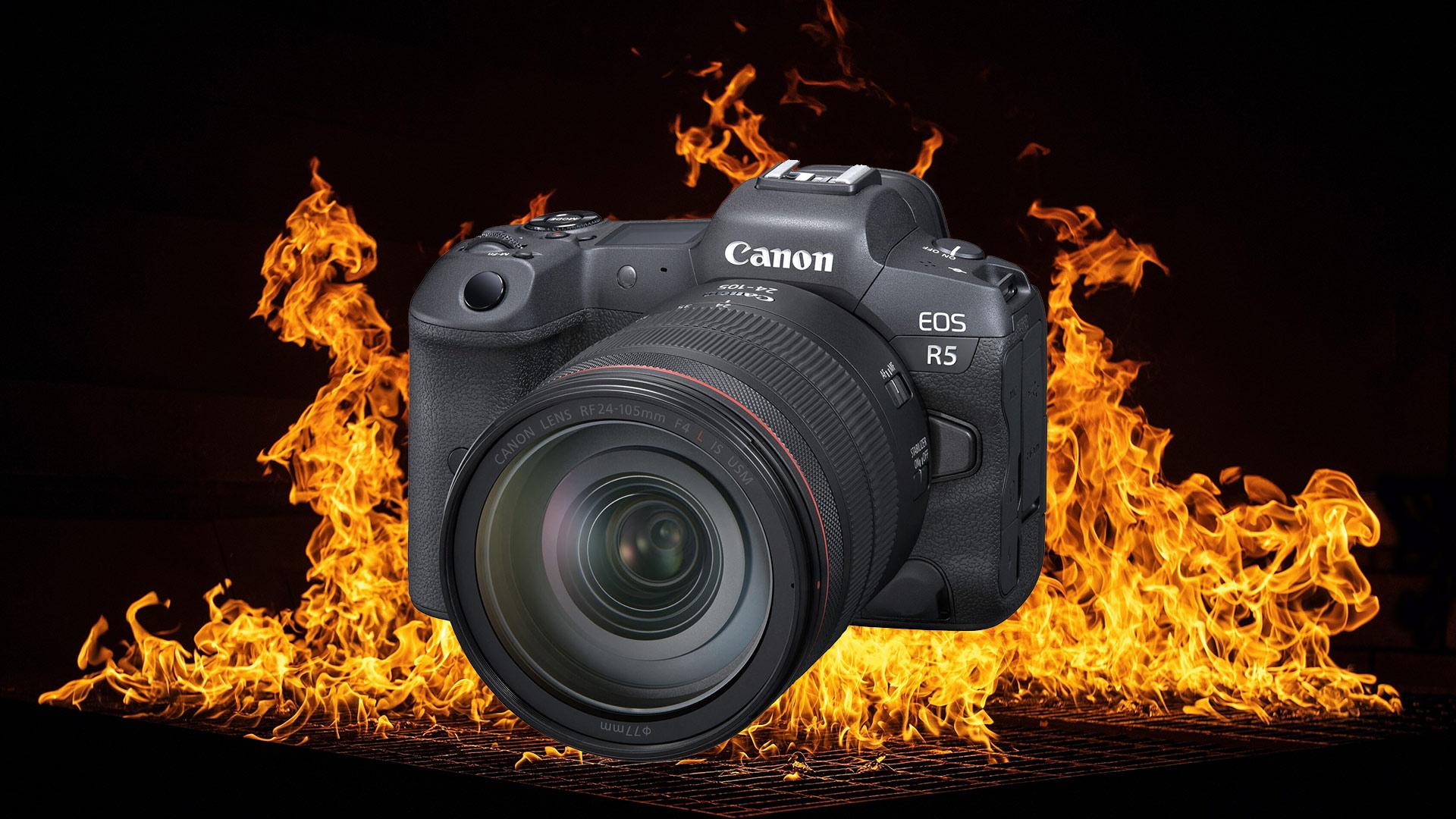 Las Canon EOS R5 y R6 se sobrecalientan durante la grabación de video - Declaración oficial