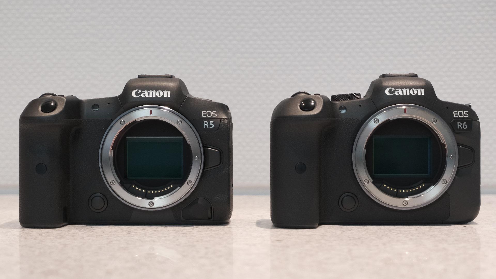 Anuncian la Canon EOS R5 con video RAW 8K y la Canon R6 4K de 10 bits