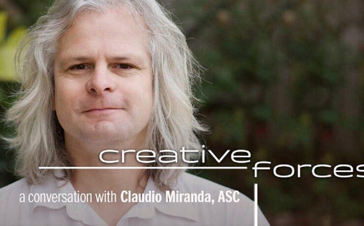 Talk with Cinematographer Claudio Miranda, ASC, by Sony and FUJINON