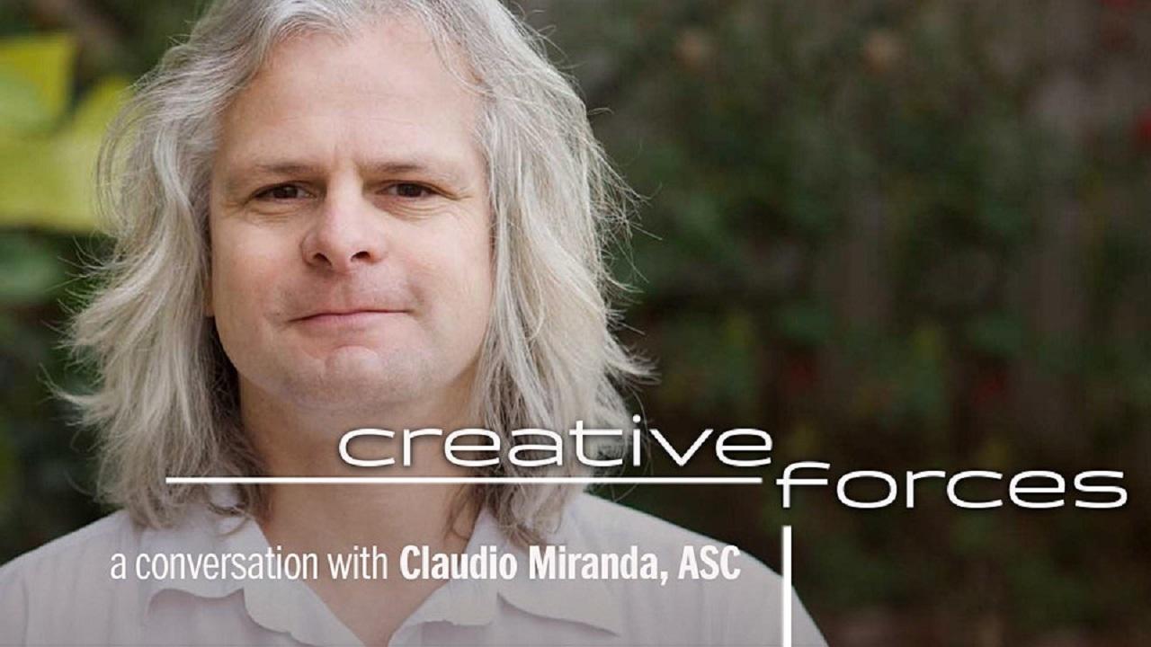 Charla con Claudio Miranda, el Director de Fotografía ASC, patrocinada por Sony y FUJINON