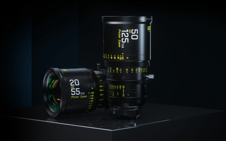 DZOFILM 20-55mm and 50-125mm T2.8 Super 35mm Zoom Lenses Introduced