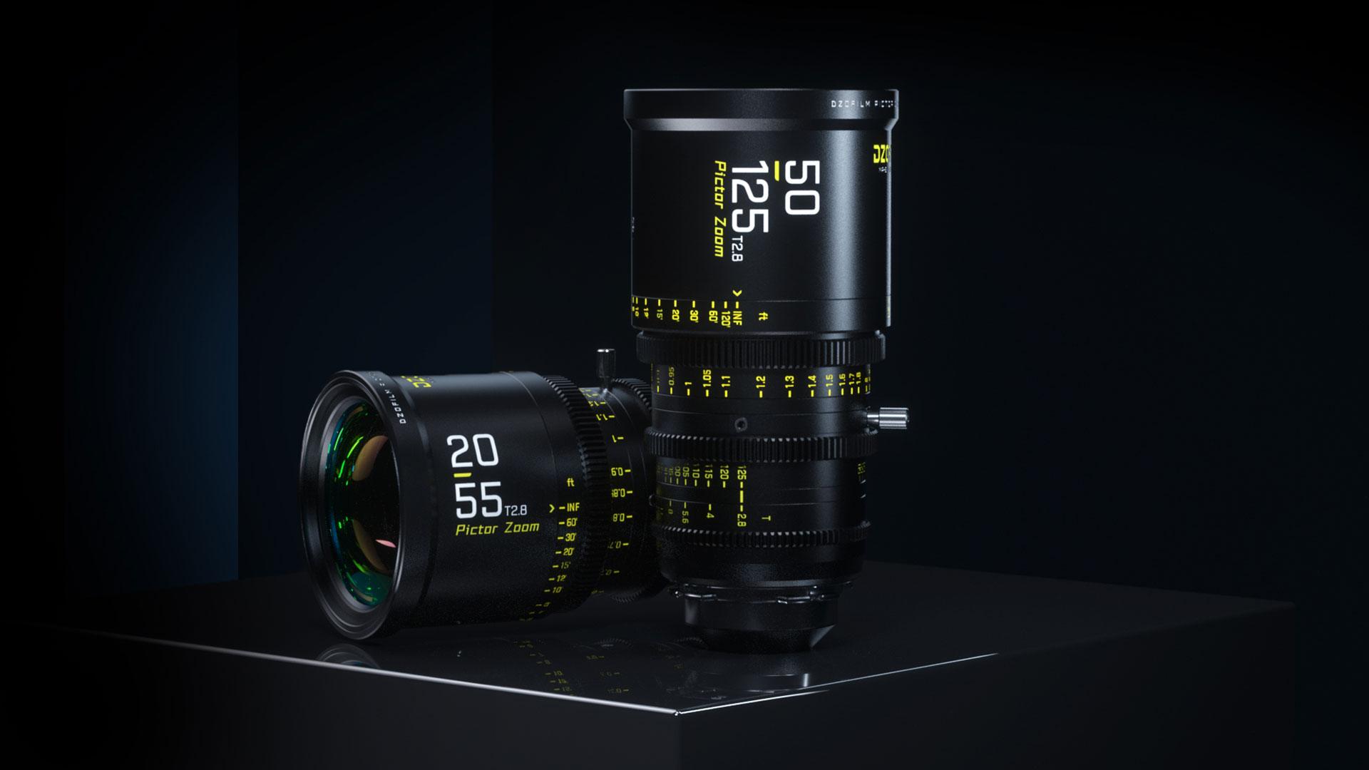 DZOFILM Presentó los lentes zoom Super 35 mm 20-55 mm y 50-125 mm T2.8