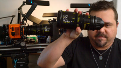 DZOFILM Pictor 20-55mm & 50-125mm Zooms and RED Komodo Discussion with Phil Holland