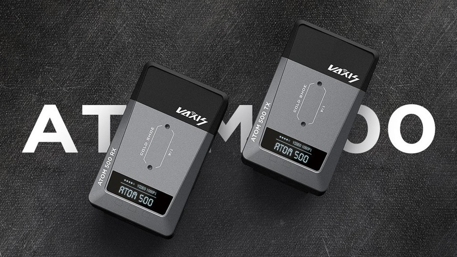 Oferta en el kit de transmisión de video Vaxis Atom 500 (35% de descuento) y actualización de firmware