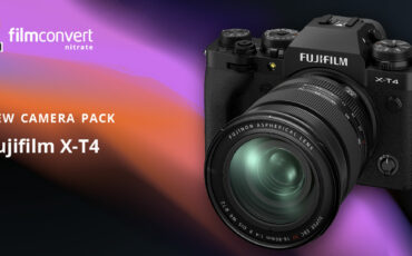 FilmConvert Camera Pack for FUJIFILM X-T4 Now Available
