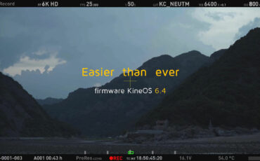 Kinefinity KineOS 6.4 Firmware Update - ProRes 4444 & 4444 XQ for TERRA 4K