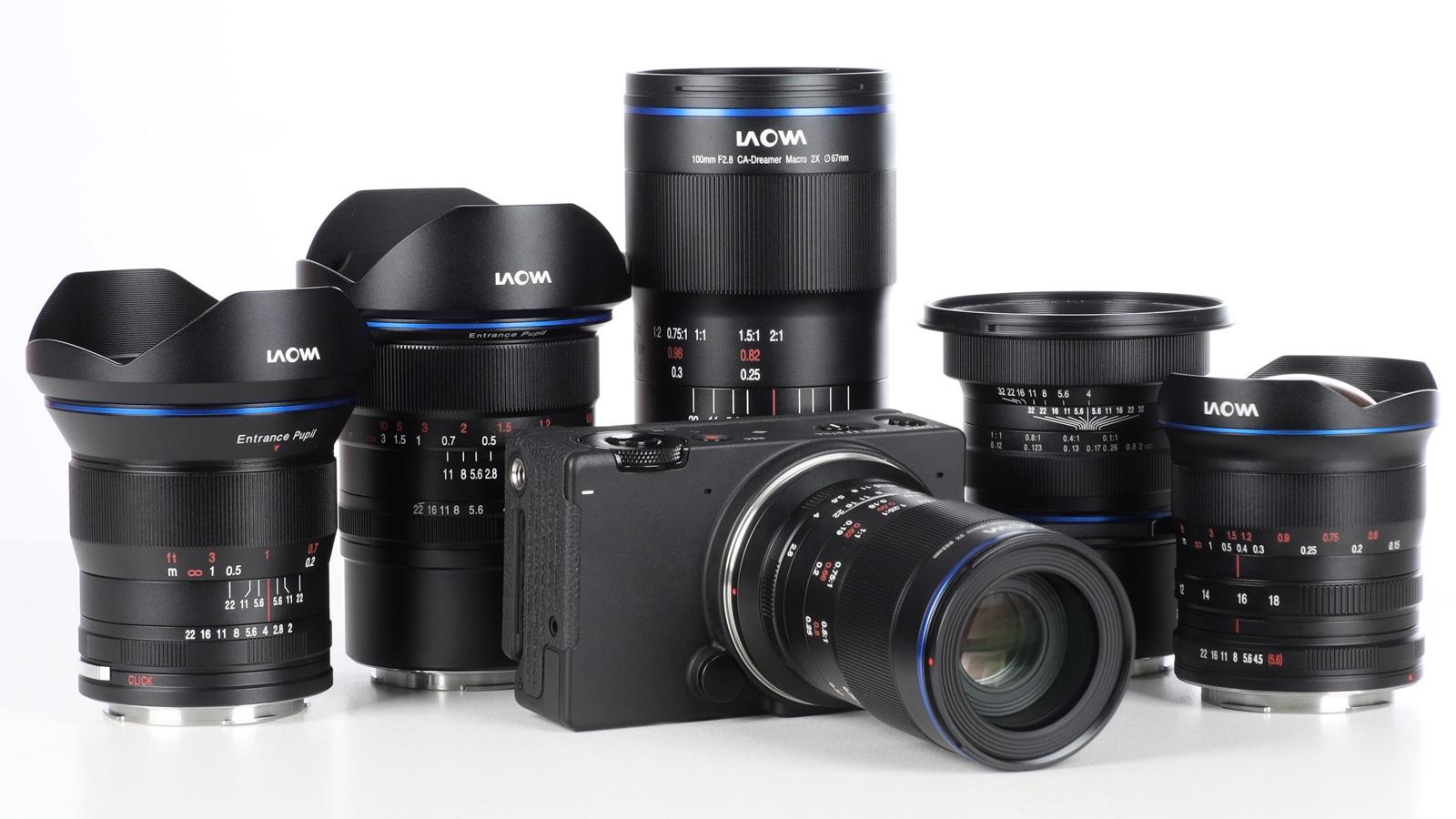 Laowa anunció nuevas versiones de montura L-Mount para lentes macro y ultra angulares