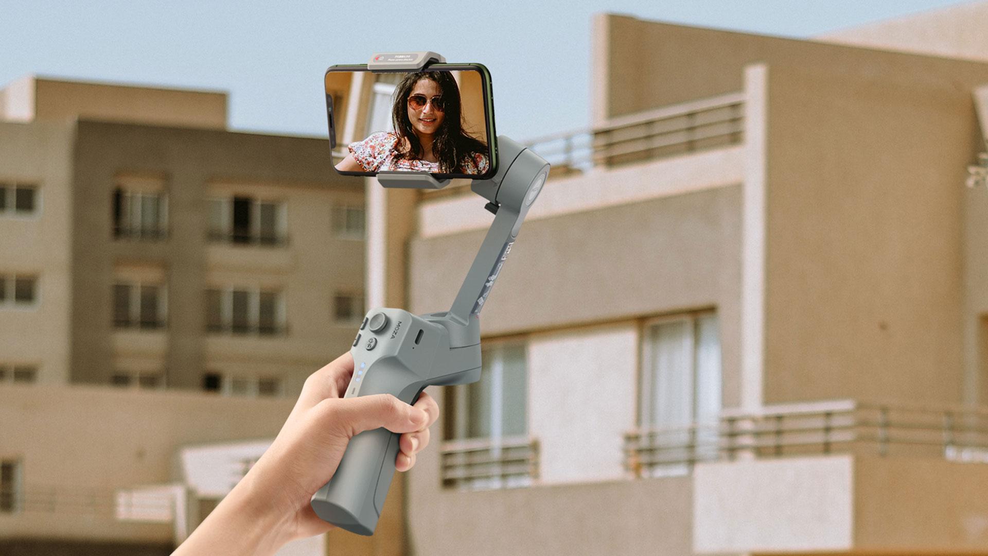 MOZAがスマートフォン用ジンバルMini MXを発表