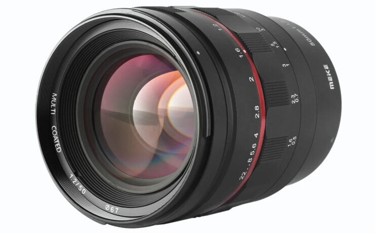 New Meike 50mm f/1.2 Prime Lens – Canon RF Mount and Manual Focus