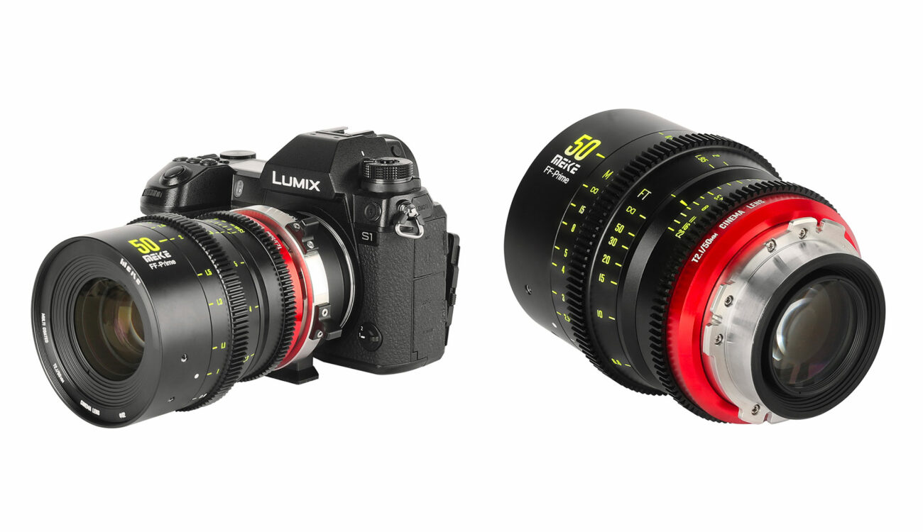 Meike 50mm T/2.1 Full Frame Cine Lens Announced