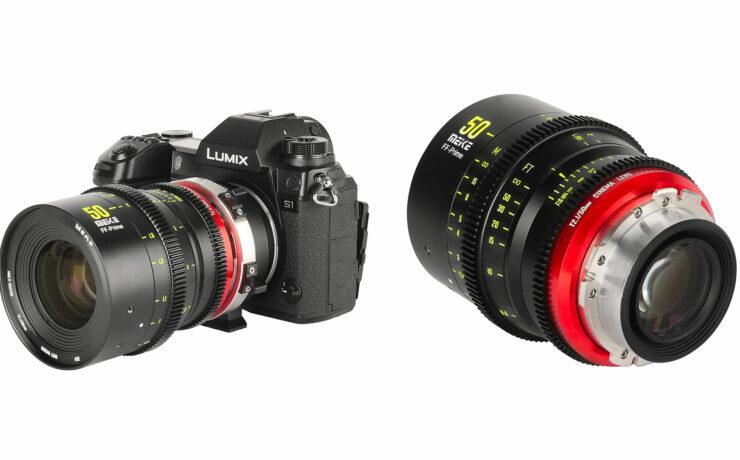 Meike 50mm T/2.1 Full Frame Cine Lens Announced
