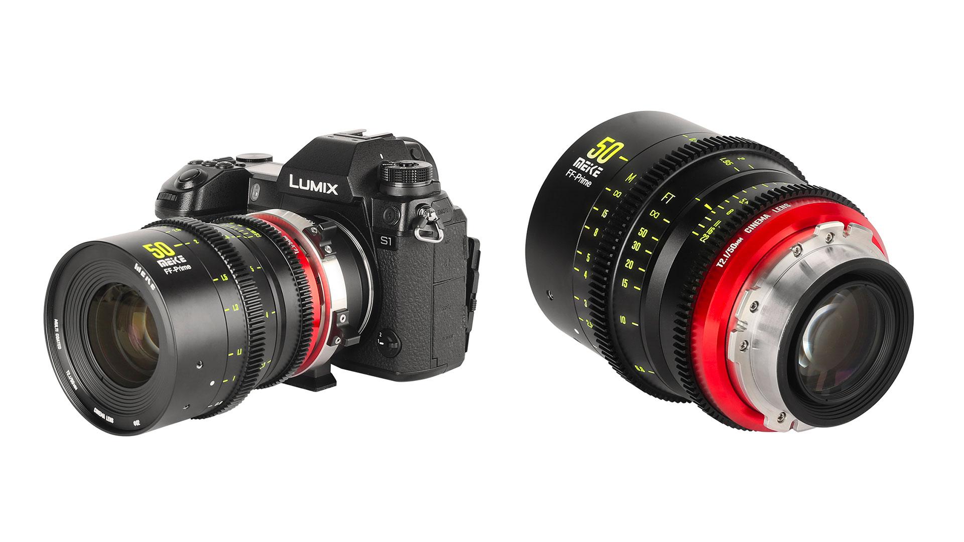 Meikeが50mm T/2.1シネレンズを発表