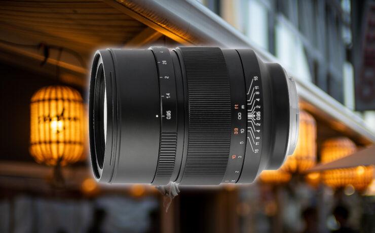 Mitakon Speedmaster 50mm f/0.95 Lens for Canon EF Mount Announced