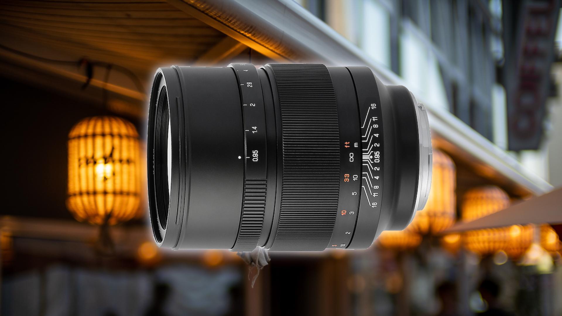 MitakonがSpeedmaster 50mm f/0.95レンズを発表
