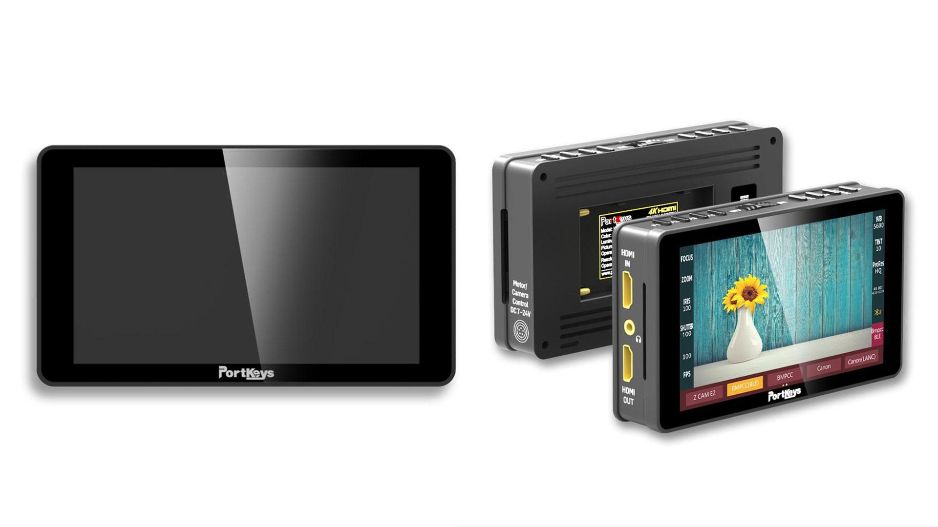 """Lanzaron PortKeys LH5H: El monitor económico de 5"""" que puede controlar tu cámara"""