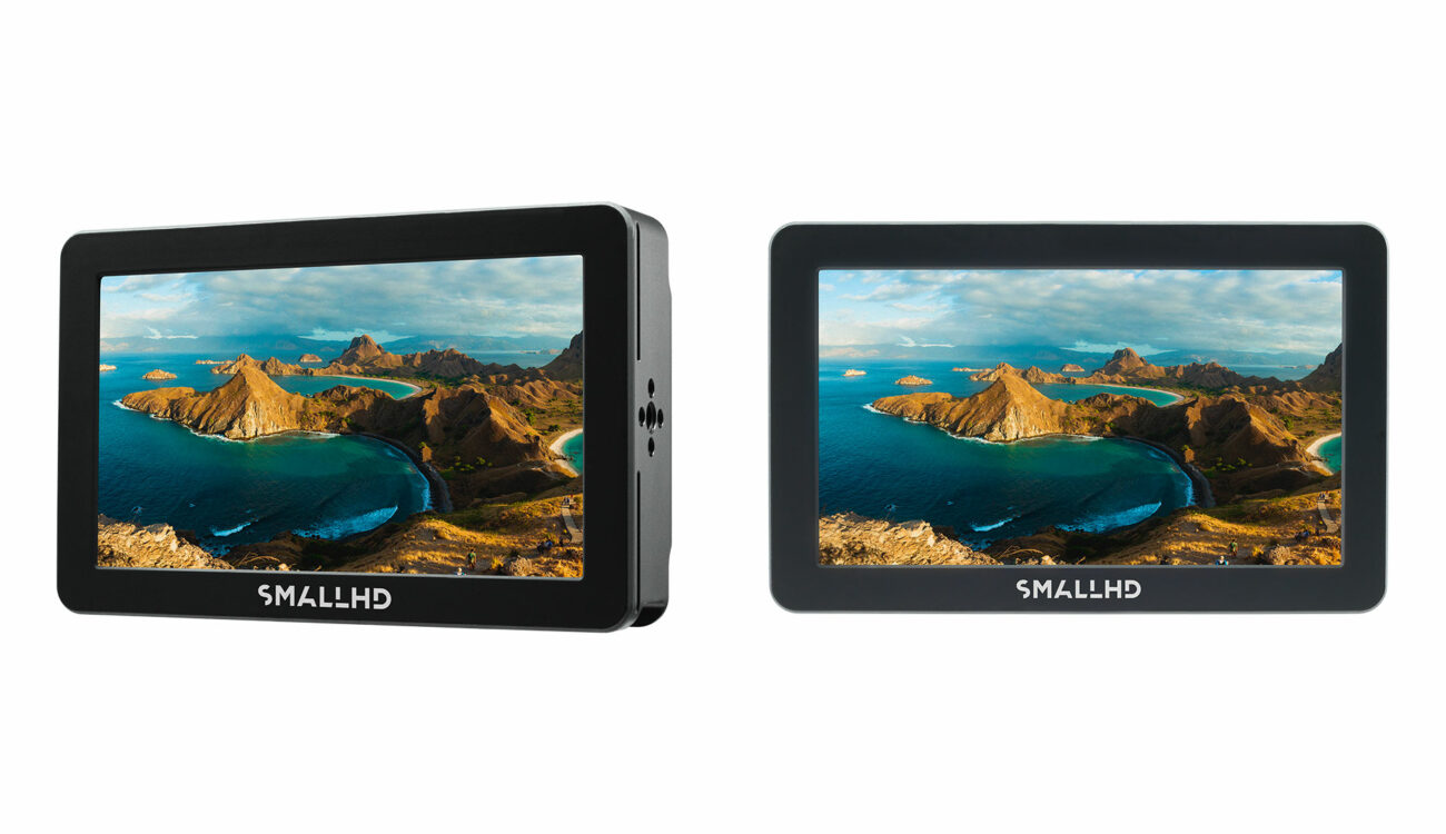 "SmallHD Focus Pro 5"" Monitors for RED Cameras Announced"