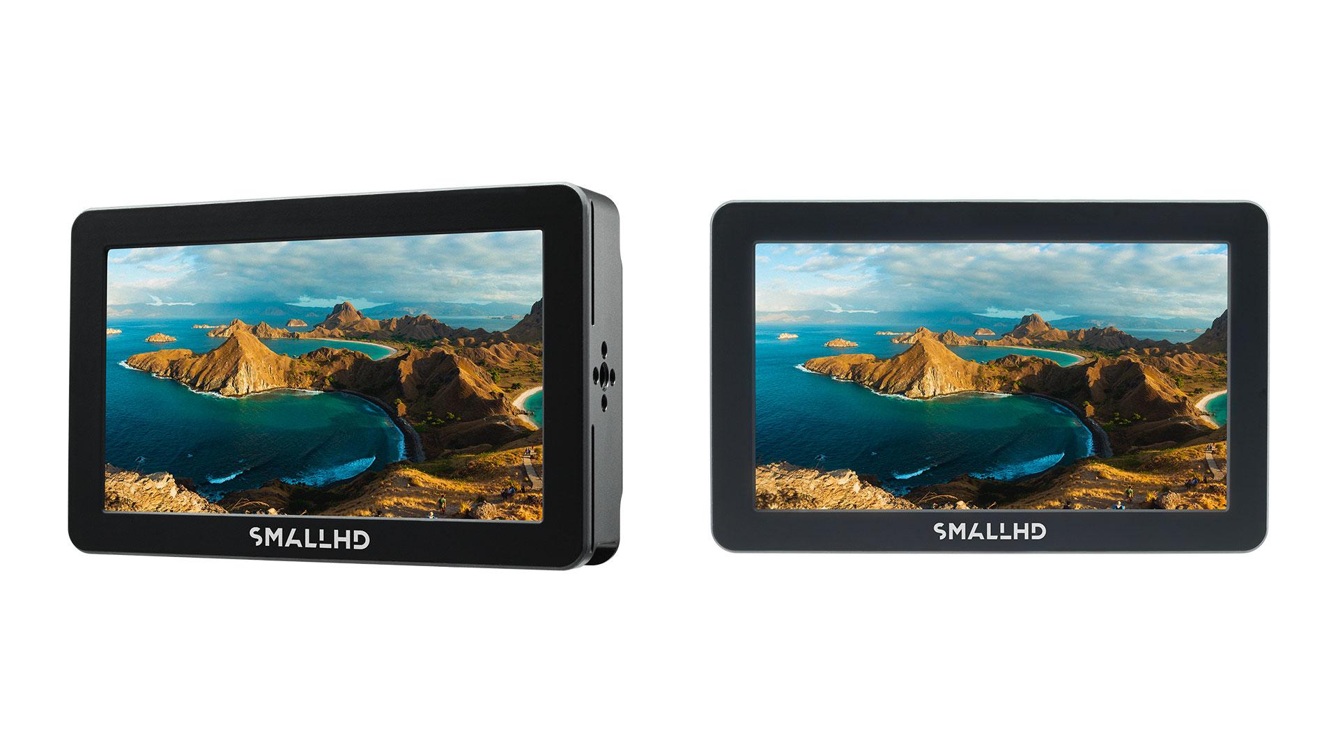 """Anunciaron los monitores SmallHD Focus Pro de 5"""" para las cámaras RED"""