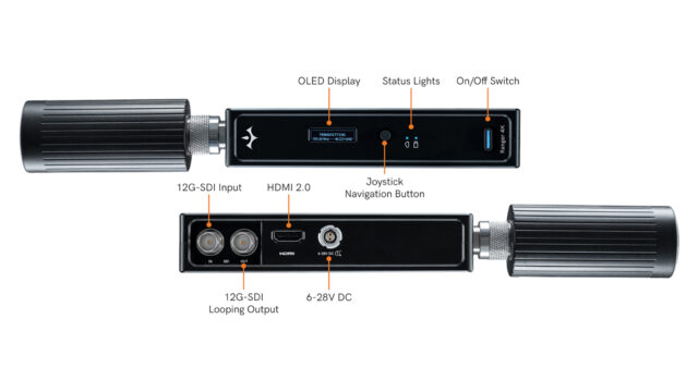Teradek Ranger - Connections (Inputs, Outputs, and Controls) (Credits: Teradek, LLC)