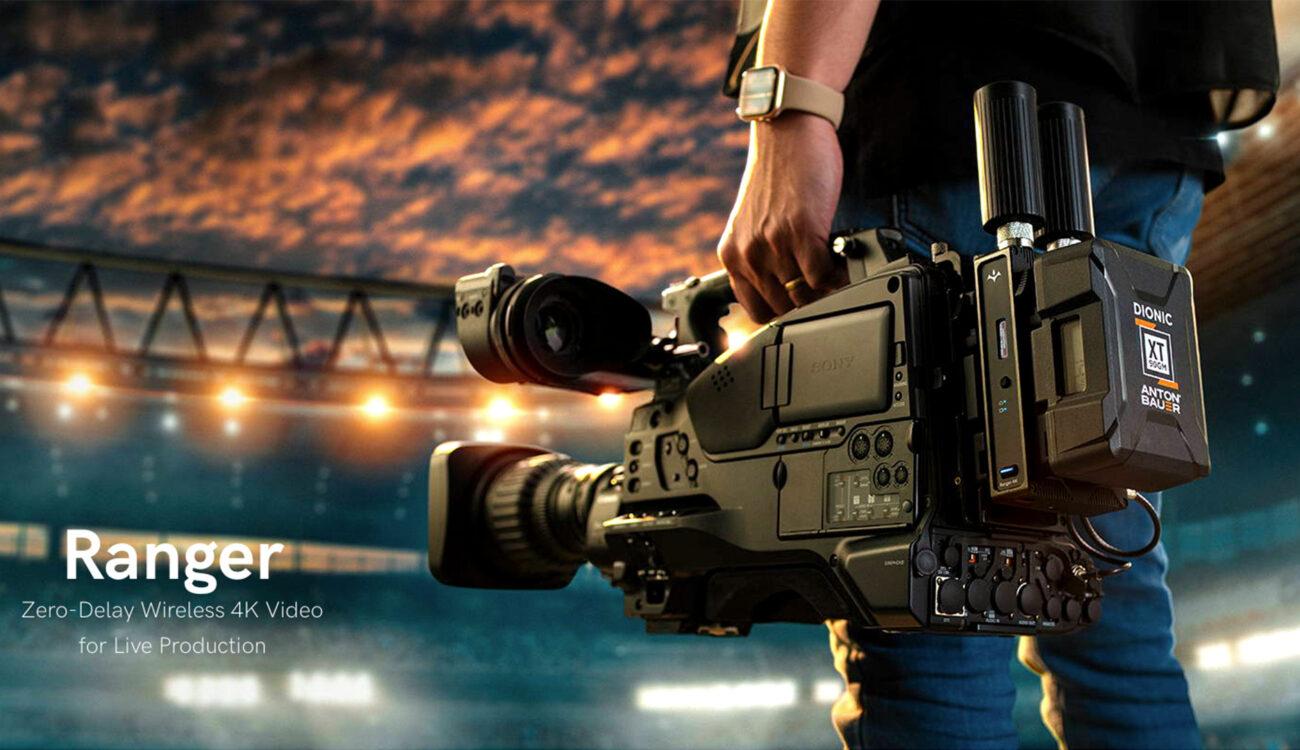 Teradek Ranger - Uncompressed Long-Distance 4K HDR Video Transmission
