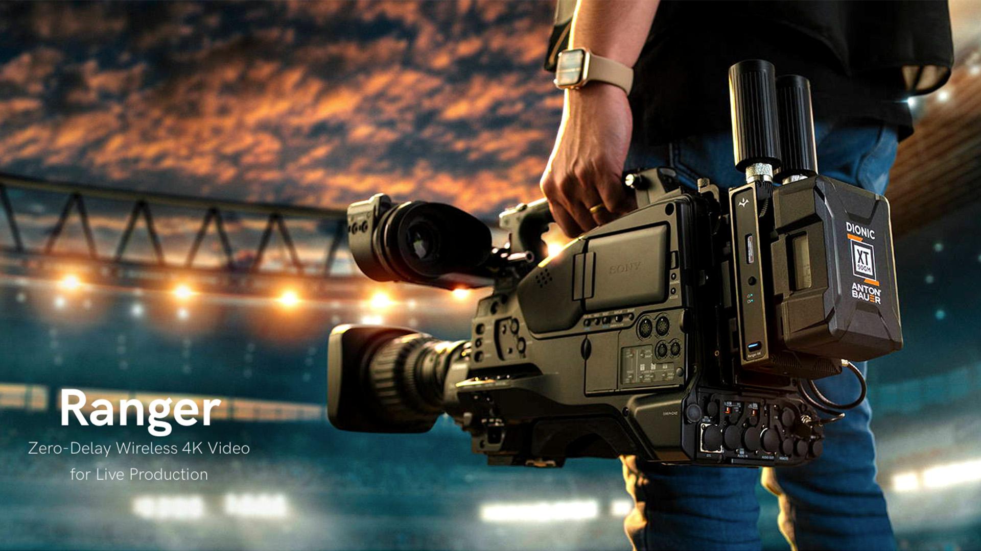 Teradek Ranger - 非圧縮長距離4K HDRビデオ伝送