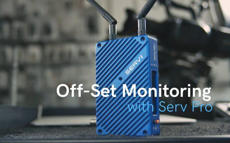 Teradek Serv Pro - Firmware Update Brings Off-Set Monitoring via Core Cloud