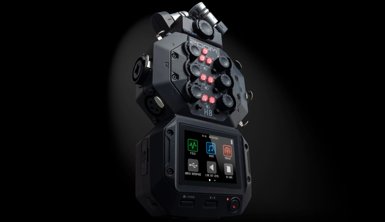 ZOOM H8 Announced – Multi-Purpose Audio Recorder