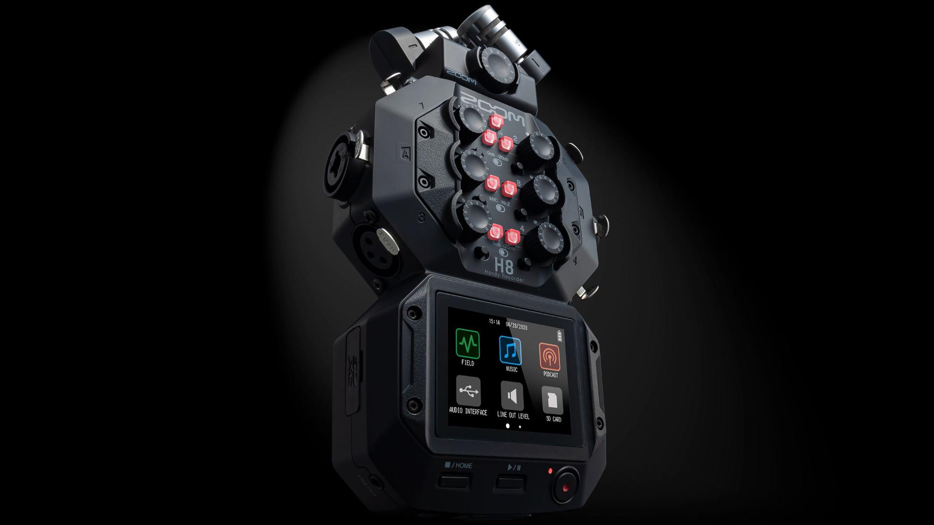 Anunciaron el ZOOM H8, la nueva grabadora de audio multipropósito