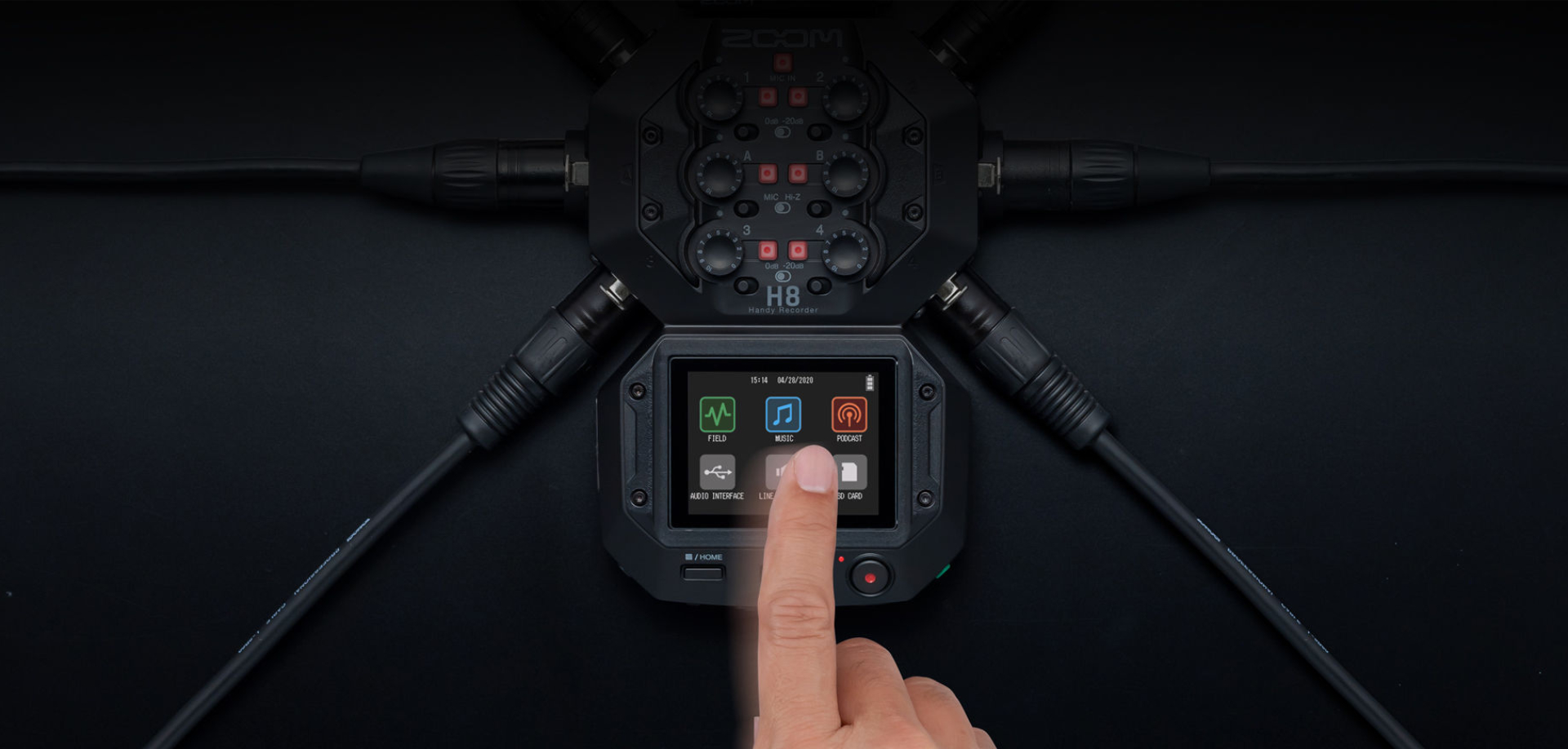 ZOOM H8 Announced – Multi-Purpose Audio Recorder | cinema5D