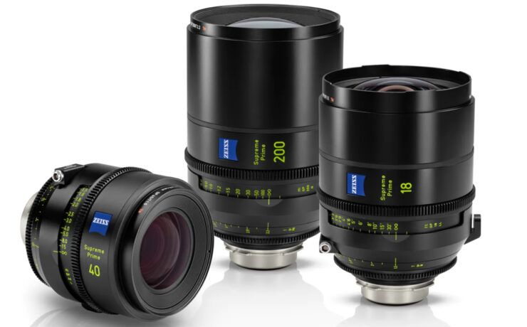 ZEISS Supreme Prime 18mm T1.5, 40mm T1.5 and 200mm T2.2 -  High End Line-Up Keeps Expanding